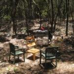 Illegal campsite in Woorim area
