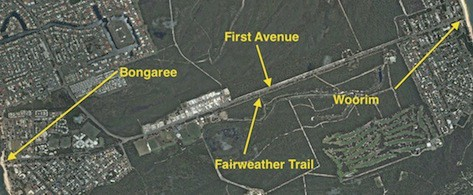 Fairweather Trail from Woorim to Bongaree